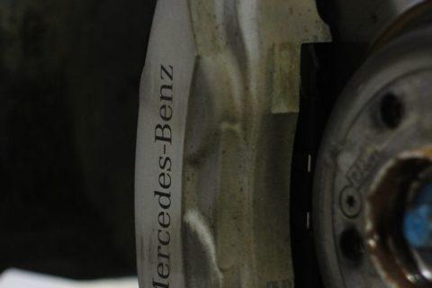 замена тормозных дисков